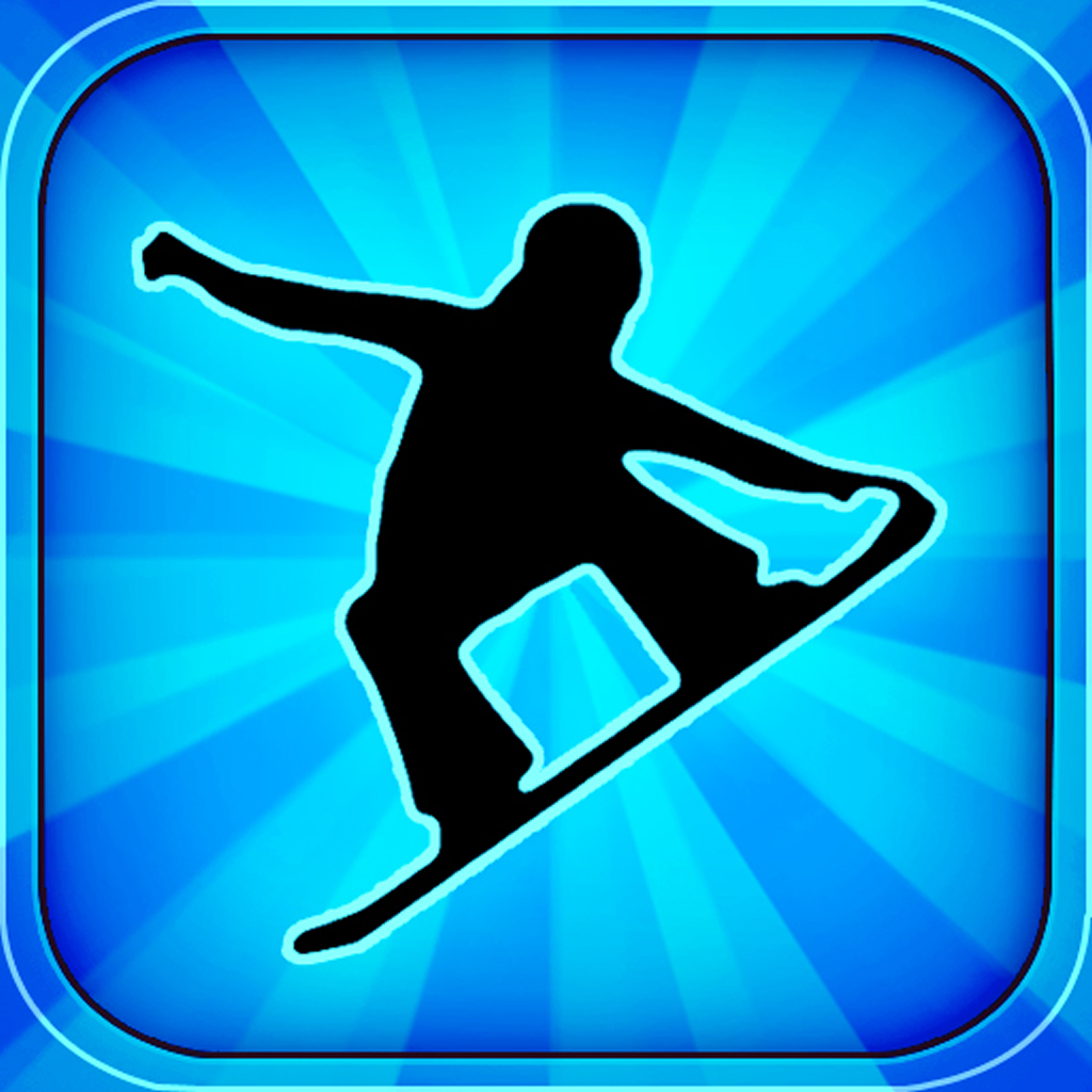 Crazy Snowboard app icon