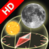 3D Sun&Moon Compass HD for iPad2 (Gyroscope enabled) logo